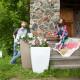 Напольное кашпо для цветов в Улан-Удэ